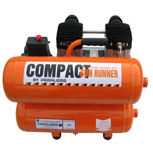 COMPACT Gun Runner Electric Oil less Compressor
