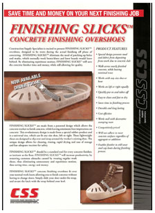 finishing slicks concrete finishing overshoes