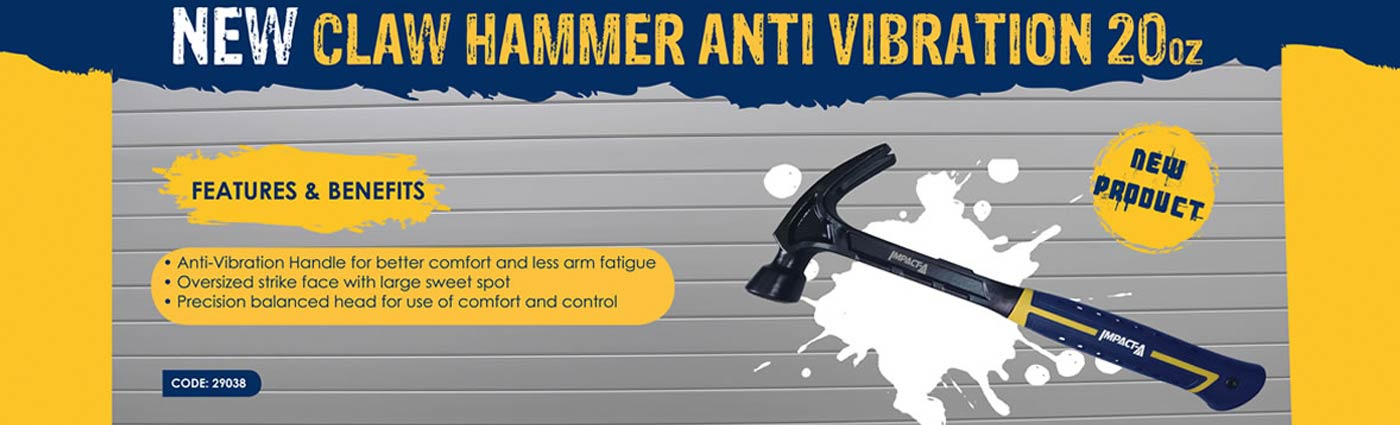 new clam hammer anti vibration vip