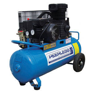 peerless p12 electric belt drive compressor