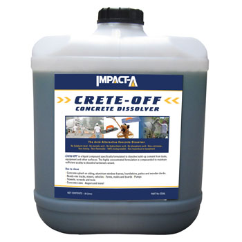 IMPACT A Crete Off Concrete Dissolver 20Lt
