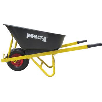 IMPACT A Wheelbarrow Plastic Tub Fat Wheel