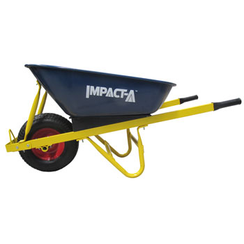 IMPACT A Wheelbarrow Metal Tub Fat Wheel 28901