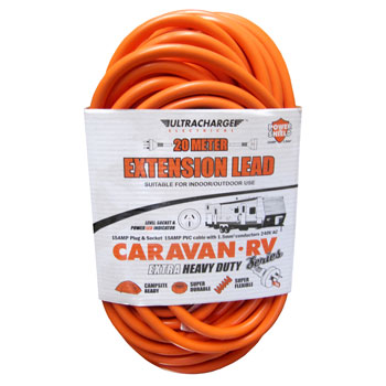 ULTRACHARGE 20 Mtr Caravan Lead